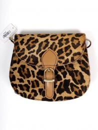 Wild Print Recycled Leather Bag BOKA25-A to buy in bulk or in detail in the category of Alternative Hippie Accessories.