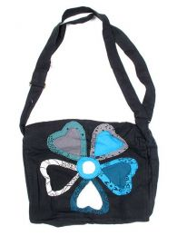 Flower hippie hearts bag. BOMT02 to buy wholesale or detail in the category of Alternative Hippie Accessories.
