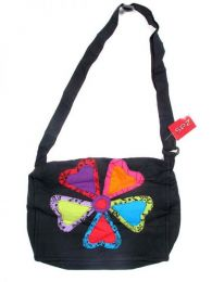 Flower hippie hearts bag. BOMT02 to buy wholesale or detail in the category of Alternative Hippie Clothing for Women.