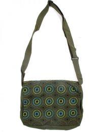 bolso circulos bordados,bolso Mod Verde
