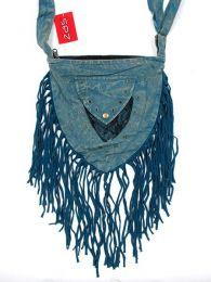 Bolsos y Mochilas Hippies - bolsitohippie triangular BOMT10 - Modelo Azul