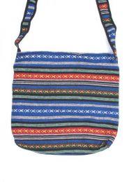 Bolso hippie étnico grande, bolso tipo bandolera realizado con telas BOPH06 para comprar al por mayor o detalle  en la categoría de Complementos Hippies Alternativos.
