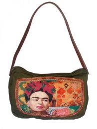 Bolso tipo Cartera Fhida Kahlo, Mod Wp02