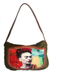 Bolso tipo Cartera Fhida Kahlo, Mod Wp13