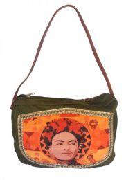 Bolso tipo Cartera Fhida Kahlo, Mod Wp03