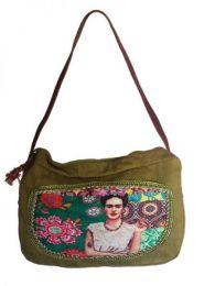 Bolso tipo Cartera Fhida Kahlo, Mod Wp04