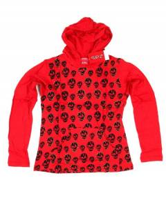 T-shirt with Skulls and Hood CACEV04 to buy wholesale or detail in the Alternative Hippies Accessories category.