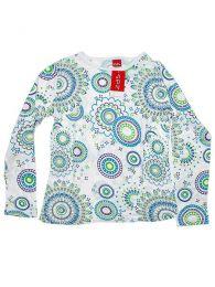 Outlet Ropa Hippie - Camiseta de rayón de CAEV02 - Modelo 167