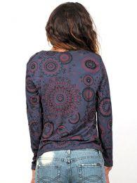 Outlet Ropa Hippie - Camiseta de rayón de CAEV02.
