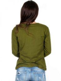 Camiseta de algodón detalle del producto