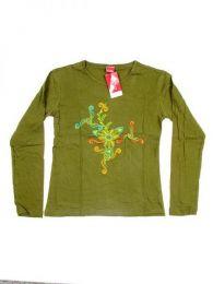 Camiseta de algodón Mod Verde