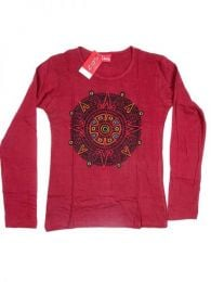 Camiseta de algodón Mod Rojo
