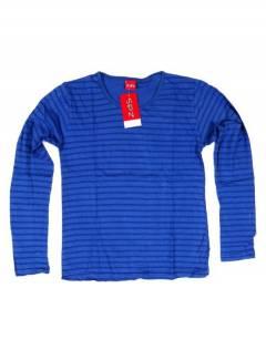 Camisetas de Manga Larga - Camiseta básica de CAEV18 - Modelo Azul