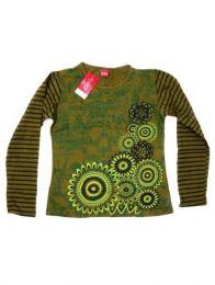 Camiseta con manga larga de Mod Verde