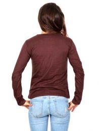 Camiseta con manga larga con detalle del producto