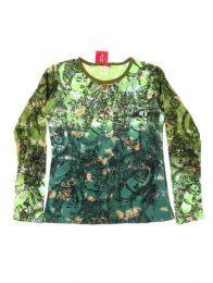 Camiseta de manga larga con Mod Verde