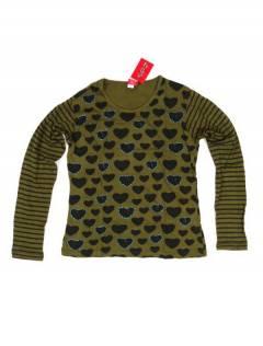 Camisetas de Manga Larga - Camiseta de algodón CAEV27 - Modelo Verde