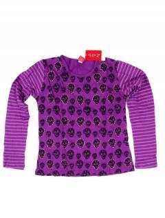 Camiseta de calaveras CAEV28 para comprar al por mayor o detalle  en la categoría de Bisutería y Plata Hippie Étnica Alternativa.