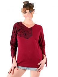 Long Sleeve T-shirts - Hippie Peak Sleeve T-shirt [CAHC13] to buy wholesale or detail in the category of Alternative Hippie Clothing for Women.