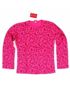 Camisetas de Manga Larga - Camiseta de algodón CAHC16 - Modelo Rosa