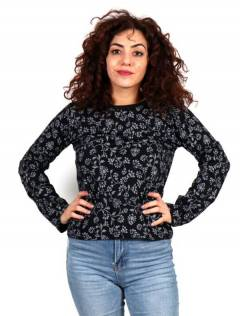 Long Sleeve T-Shirts - Printed Hippie T-shirt [CAHC16] to buy wholesale or detail in the category of Hippie Clothing for Women.