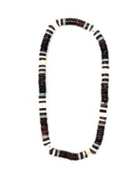Ethnic Hippie Necklaces - Hippie elastic coconut beads necklace [CCO2] to buy in bulk or in detail in the Alternative Ethnic Hippie Costume category.
