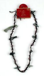 Outlet Bisutería hippie - Collar cuentas, conchas CCU2 - Modelo M4