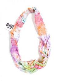 Cinta-Banda Tie Dye ancha con elástico CEJU02 para comprar al por mayor o detalle  en la categoría de Complementos Hippies Alternativos.
