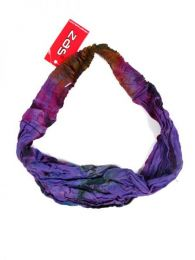 Cinta-Banda Tie Dye ancha con elástico CEJU02 para comprar al por mayor o detalle  en la categoría de Bisutería Hippie Étnica Alternativa.