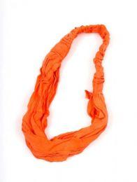 Cinta, banda, felpa, diadema Mod Naranja