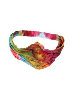 Cinta-Banda Tie Dye ancha con elástico,  para comprar al por mayor o detalle  en la categoría de Complementos y Accesorios Hippies  Alternativos  | ZAS. [CEPN02]