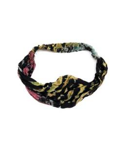 Cinta-Banda Tie Dye ancha con elástico,  para comprar al por mayor o detalle  en la categoría de Accesorios de Moda Hippie Bohemia | ZAS. [CEPN02]
