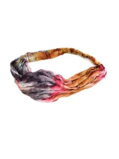 Tape-Band Tie Dye wide with elastic CEPN02 to buy wholesale or detail in the Alternative Hippie Complements and Accessories category | ZAS.