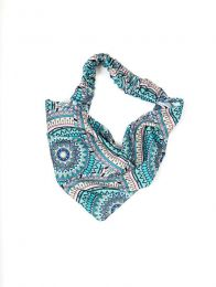 Hair bands - Printed hair band [CESN01] to buy in bulk or in detail in the category of Alternative Hippie Accessories.