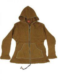 Sudaderas - Abrigos - Sudadera de lana Alternativa. CHAM02 - Modelo Marrón