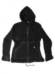 Sudadera de lana Alternativa. Mod Negro