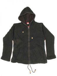 Abrigo de lana Alternativo. Mod Negro