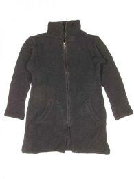 Abrigo largo de lana Alternativo. Mod Negro