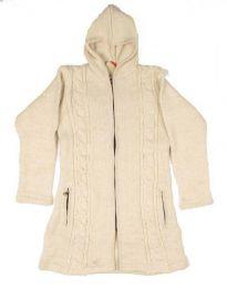 Abrigo de lana ochos Alternativo. Mod Crudo