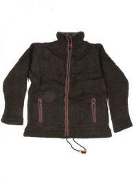 Chaqueta de lana Alternativa. Mod Marrón