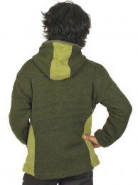 Chaqueta de lana Alternativa. detalle del producto