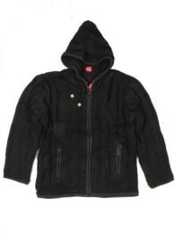 Chaqueta de lana Alternativa. Mod Negro