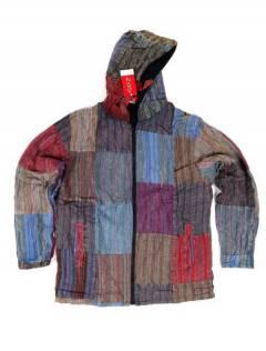 CHEV08 Hippie Patchwork Jacket à acheter en gros ou en détail dans la catégorie Alternative Hippie Accessories.
