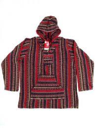 Chaqueta Sudadera algodón Mod Rojo