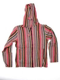 CHEV18 Colored Striped Jacket to buy wholesale or detail in the Alternative Ethnic Hippie Outlet category | ZAS Hippie Store.