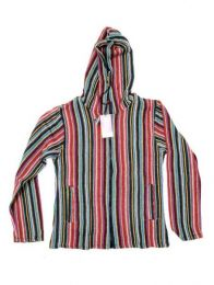 Colored Striped Jacket, to buy wholesale or detail in the Bohemian Hippie Fashion Accessories category | ZAS. [CHEV18]