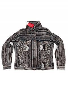 CHEV21 Ethnic Denim Jacket da acquistare all'ingrosso o dettaglio nella categoria Alternative Hippies Accessories.