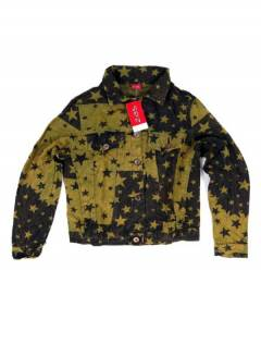 CHEV25 Star Denim Jacket to buy wholesale or detail in the Alternative Ethnic Hippie Jewelry category.
