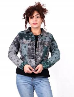 Star Denim Jacket CHEV25 to buy wholesale or detail in the category of Hippie Clothing for Women.