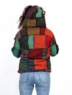 Chaquetas y Abrigos - Chaqueta realizada en patchwork CHEV26.
